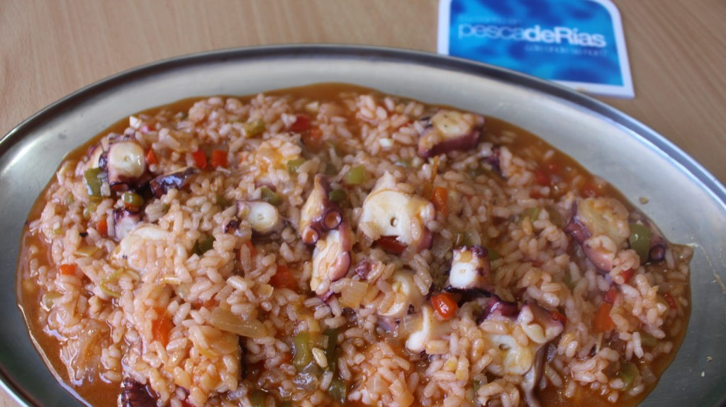 Arroz Caldoso De Pulpo Gallego Pescader As