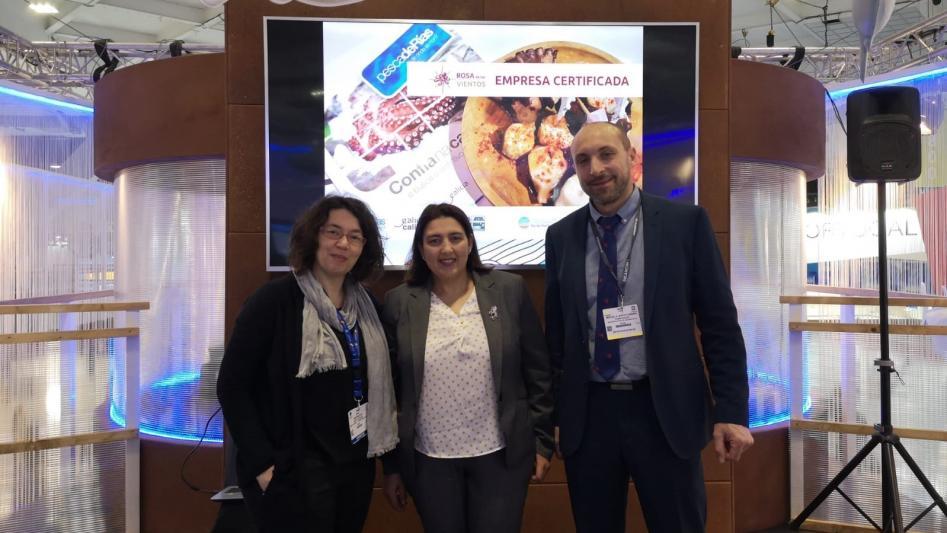 Estamos en la SeafoodExpoGlobal de Bruselas