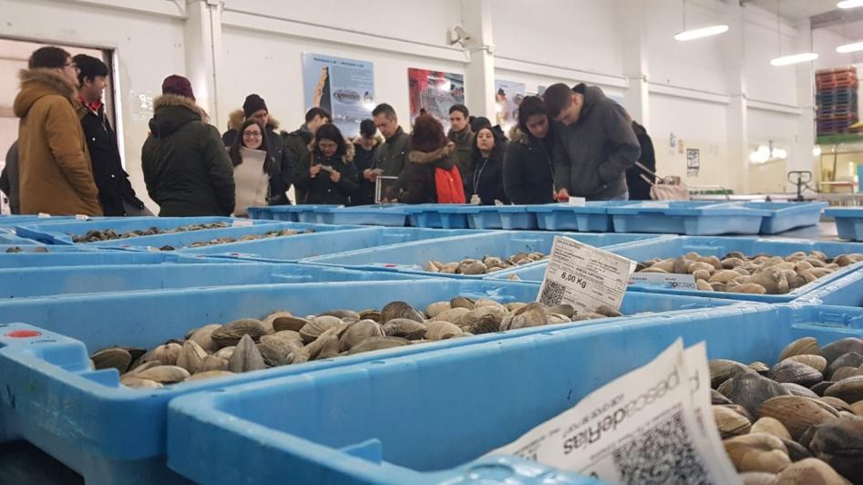 Do Mar ao Prato: El alumnado de los centros de hostelería visita las villas costeras