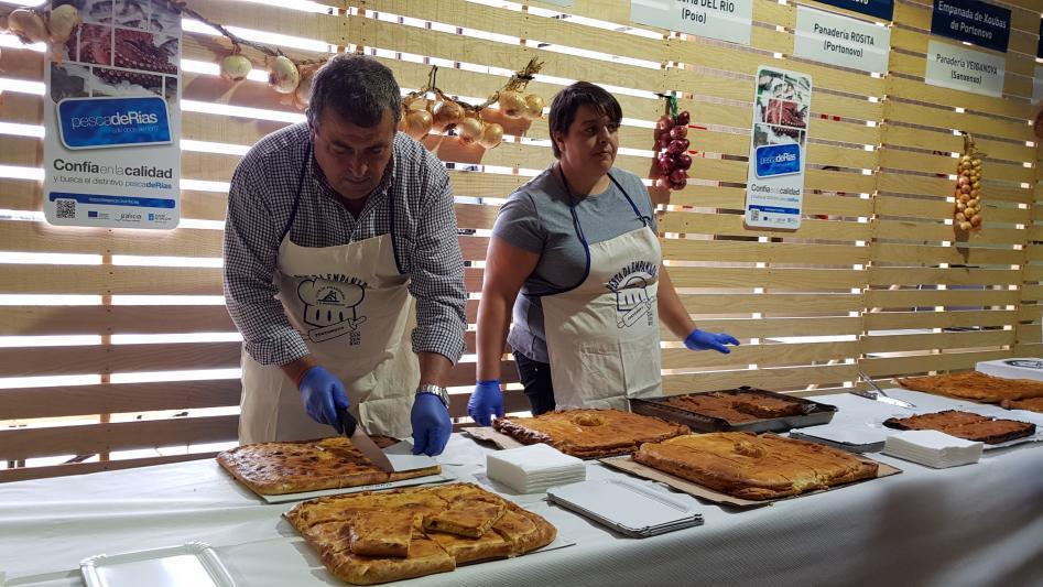 I Fiesta de la empanada marinera de Portonovo con producto pescadeRías