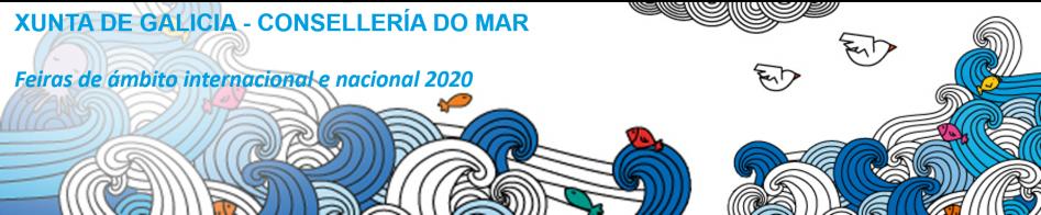PARTICIPACIÓN como coexpositor en ferias de ámbito internacional y nacional en el año 2020.