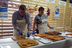I Festa da empanada mariñeira de Portonovo con produto pescadeRías