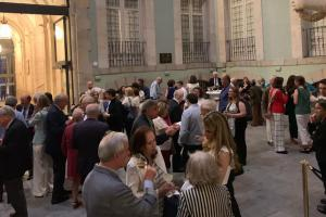 Degustación de productos certificados en la Real Academia de Bellas Artes de San Fernando en Madrid