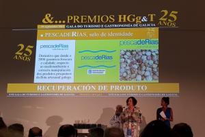 La marca pescadeRías en los Premios HGg&T