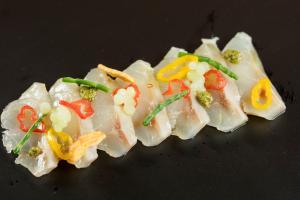 Sashimi de robaliza