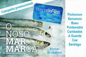 Hoxe comeza a campaña promocional pescadeRías en prazas de abastos